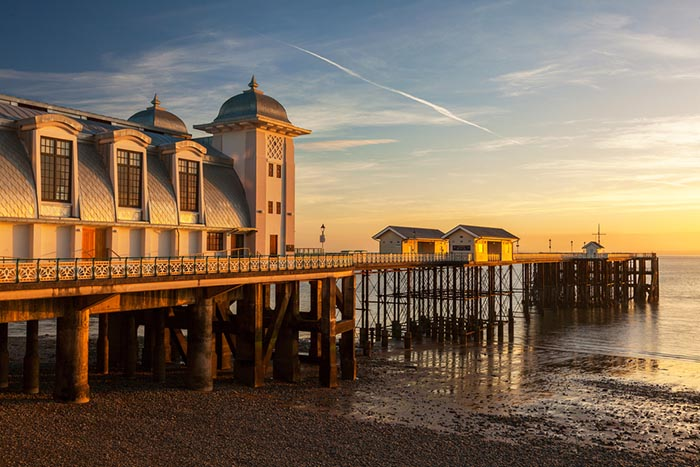 Penarth Pier, Vale of Glamorgan, Wales