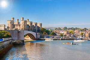 teach in Wales, visit Conwy Castle